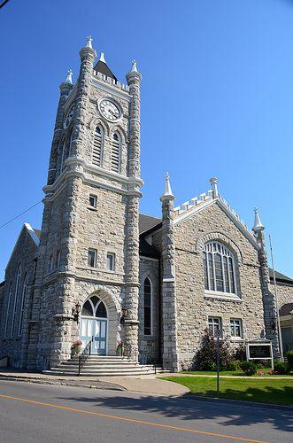 The Picton United Church, Picton PEC, Ontario Canada