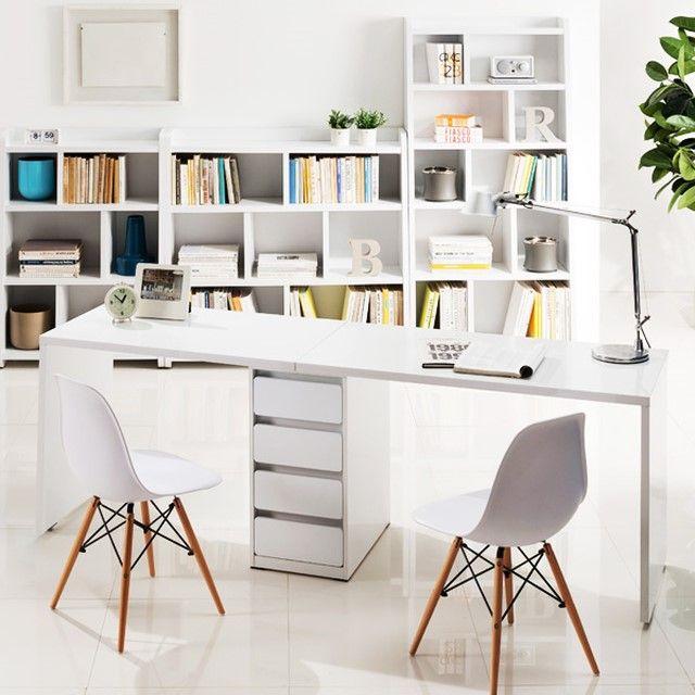 하스 2000 2인용 책상 + 서랍 / 분리조립가능