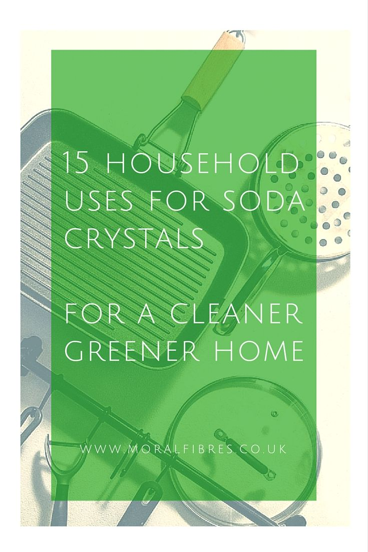 Soda Crystals Are A Cheap And Eco Friendly Household