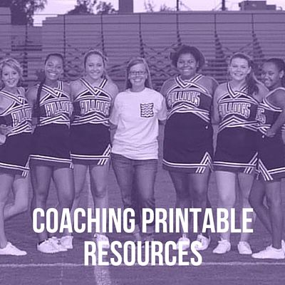 Sometimes all you need is a little bit of organization to take your leadership to the next level. Here are some of the tools I use to stay organized and tackle all of my many roles as a cheer coach. Leadership Year Evaluation and Goals Questions for Potential Cheer Captains My 10 Coaching Mistakes E-book …
