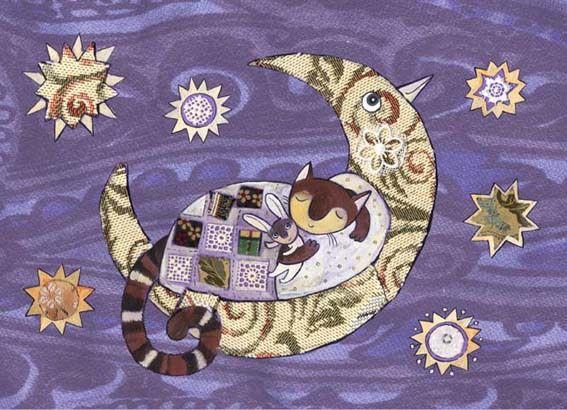 Сообщество иллюстраторов / Иллюстрации / Герасимова Дарья / Птица-Луна