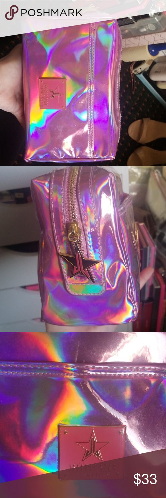 Sold out pink holo j☆ makeup bag SOLD OUT Pink holographic