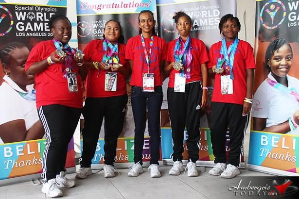 AmbergrisToday.com | Team Belize Scores Silver at the Special Olympics World Games 2015