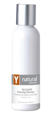 Y Natural Organic Skincare - 102 CLEAN Foaming Cleanser - 125ml