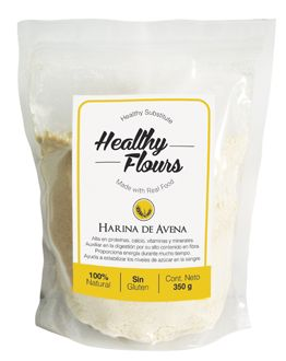H de avena | clear stand up pouch packaging | curated by Copious Bags™