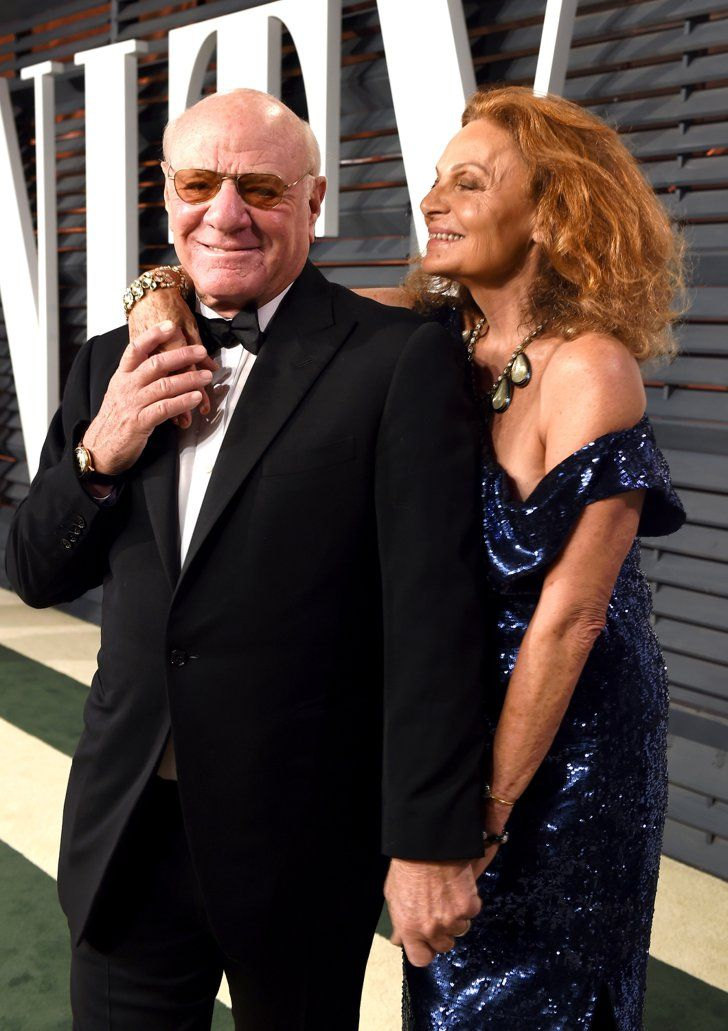 Pin for Later: See Which Stars Let Their Hair Down at Vanity Fair's Oscars Afterparty! Barry Diller and Diane von Furstenberg