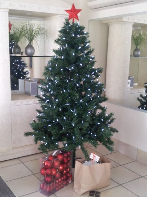 Christmas in Paradise! Hire a beautiful Christmas Tree complete with lights and decorations, for the duration of your Christmas holiday stay.   #christmas #hire #surfersparadise www.homeandholiday.com.au