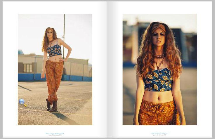 'Up Here' Photographer: Kaja Tirrul Models: Nathalie Cas (Visage Models)  MUA & Hair: Samantha Mcleod Stylist: DM Stylist Featured in Issue 009 in LIKE Magazine