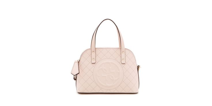 GUESS Korry Petite Quilted Dome Satchel Bag