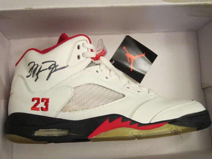 sports shoes 47982 0a538 ... Air Jordan V Limited Issue 1 of 100 OG Autographed Michael Jordan PE ...