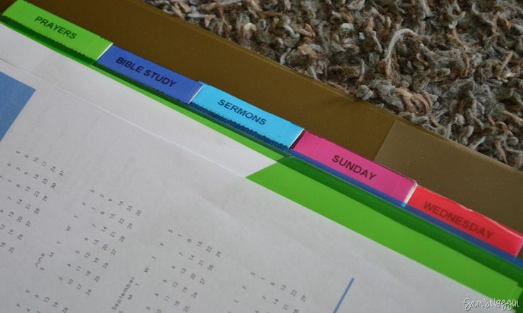 Personalize Your Own Bible Study Binder - Stay Organized ...