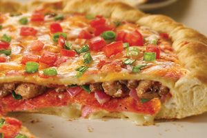My hubby loves the Chicago-Style Stuffed Pizza from Papa Murphy's #PapaMurphysMom