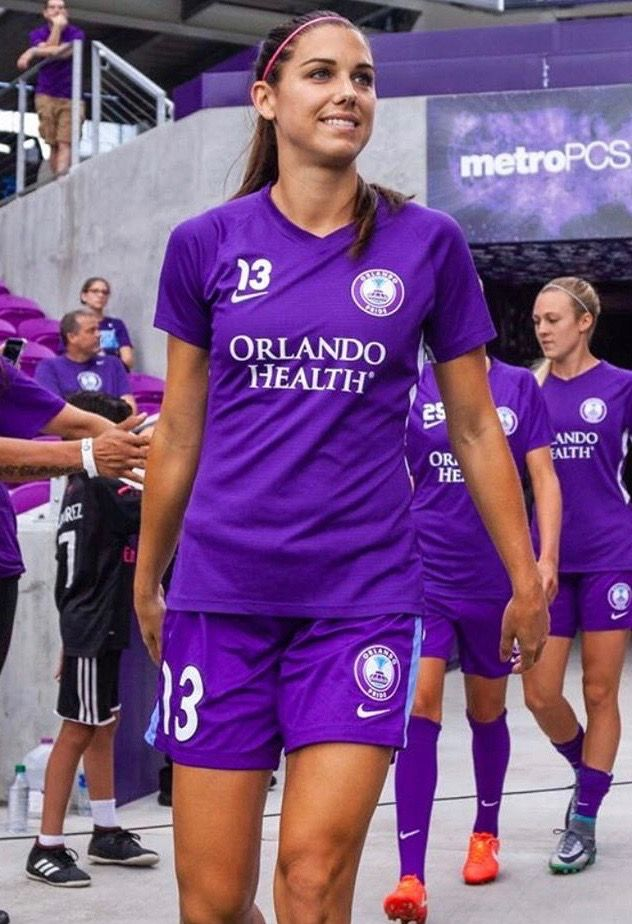 7685d0314 Alex Morgan Orlando Pride 🇺🇸