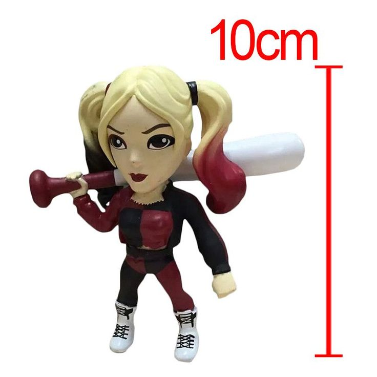 2016 NEW Movie Suicide Squad Harley Quinn Female Clown PVC Action Figure Cosplay Costume
