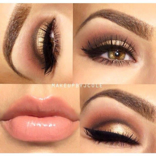Rose golds are so romantic and feminine, and a subtly blended cut-crease adds a touch ... | Use Instagram online! Websta is the Best Instagram Web Viewer!