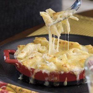 Three-Cheese Pasta Bake