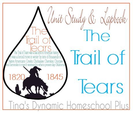 The Trail of Tears Unit Study thumb Trail of Tears Unit Study and Lapbook---Middle -High School Age