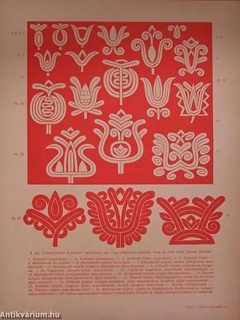 Kalotaszegi írásos hímzés (nem teljes)