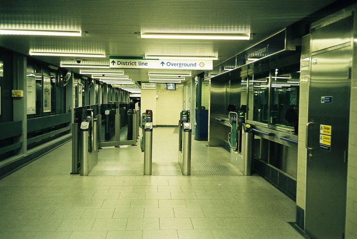 Gunnersbury Train Station London