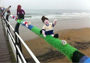 saltburn yarn bombing!