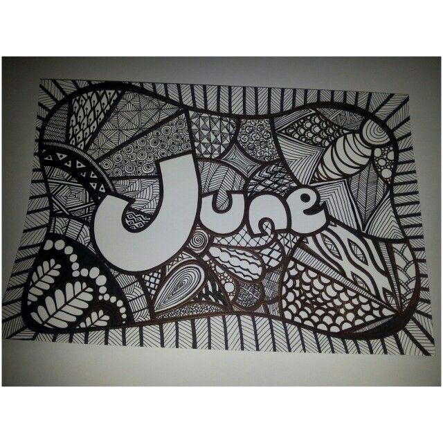 My New Art Piece : My Name ( 28102014)