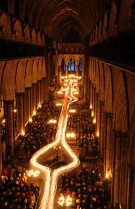 Darkness to Light at Salisbury Cathedral