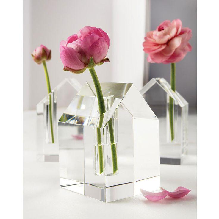 Stylish, Simplistic Yet Beautiful! Design Ideas | Aphrodite Clear Home Vase  | Flower Vase