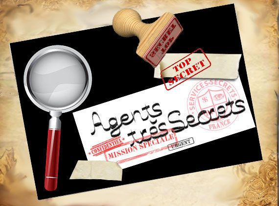 "THEME ""DES AGENTS TRES TRES SECRETS "" - 1 et 2 et 3 DOUDOUS * PATRONS* PATTERNS * GABARITS FETE A THEMES POUR ENFANTS"