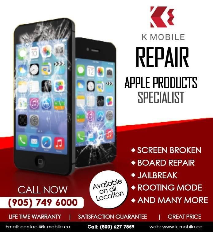 K-Mobile Offers iPhone Repair Services, Range From Cracked