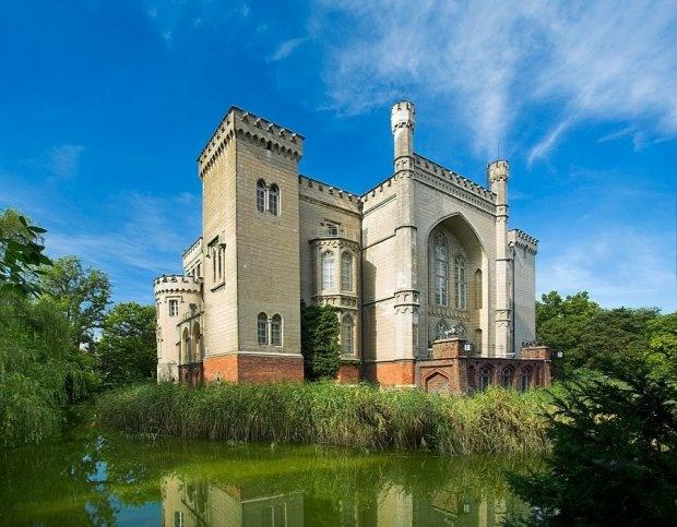 Castle in Kornik - Zamek w Kórniku, near Poznan. Gorgeous