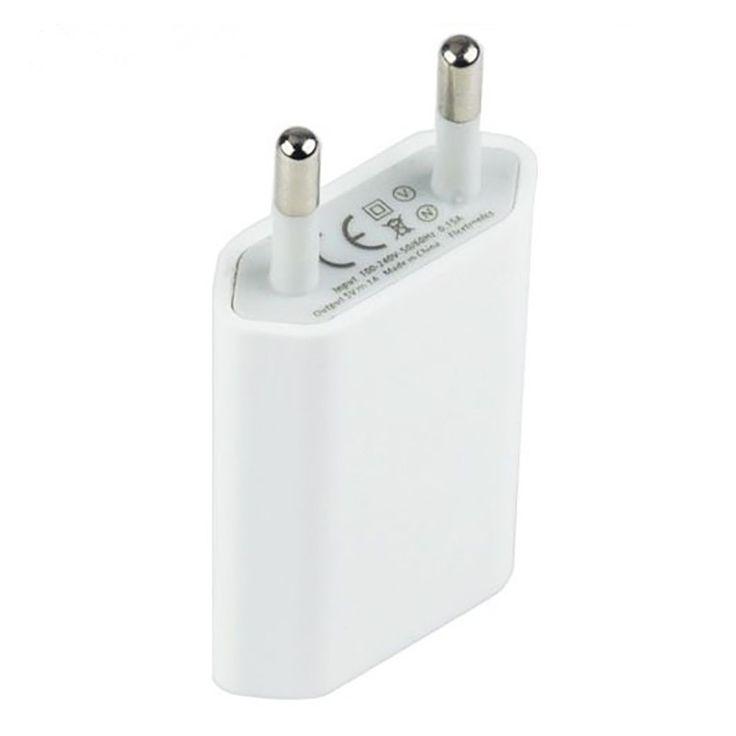 Ue universal plug usb de alimentación adaptador de cargador de pared para iphone 6 6 s más 5 5S 4 Cargador con Adaptador de Energía Del Recorrido Del Teléfono 4S T01