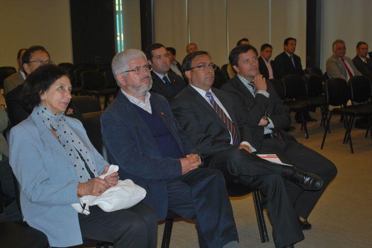 Gabriela Matus, Ernesto Paredes, Sergio Camus, Andrés López