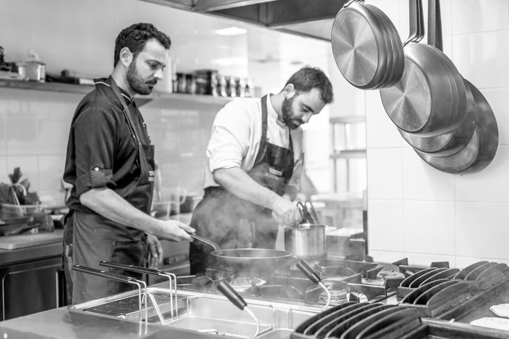 Busy chefs