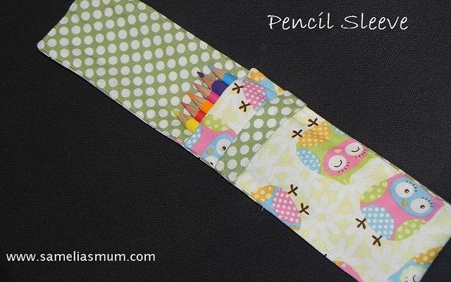 Pencil Sleeve by Samelia's Mum, via Flickr