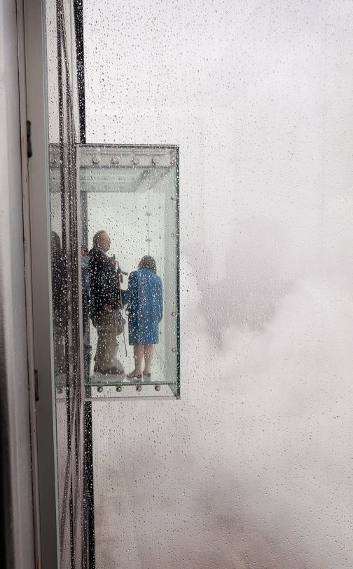 Chicago's landmark Sears Tower has found a way to enhance its must-see sky deck.