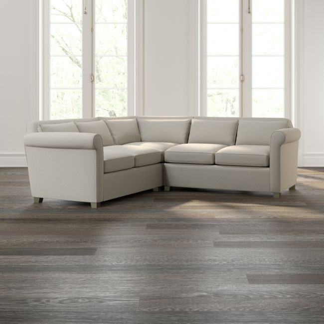 Hayward 3-Piece Rolled Arm Sectional