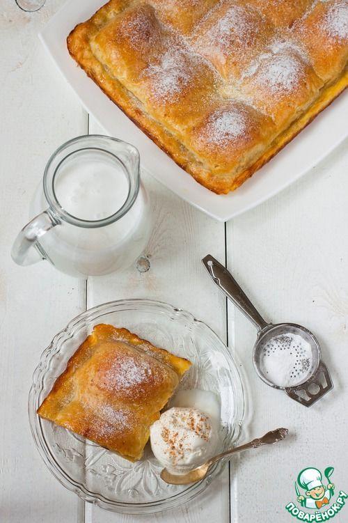 Сочный пирог с яблоками - Простые рецепты Овкусе.ру