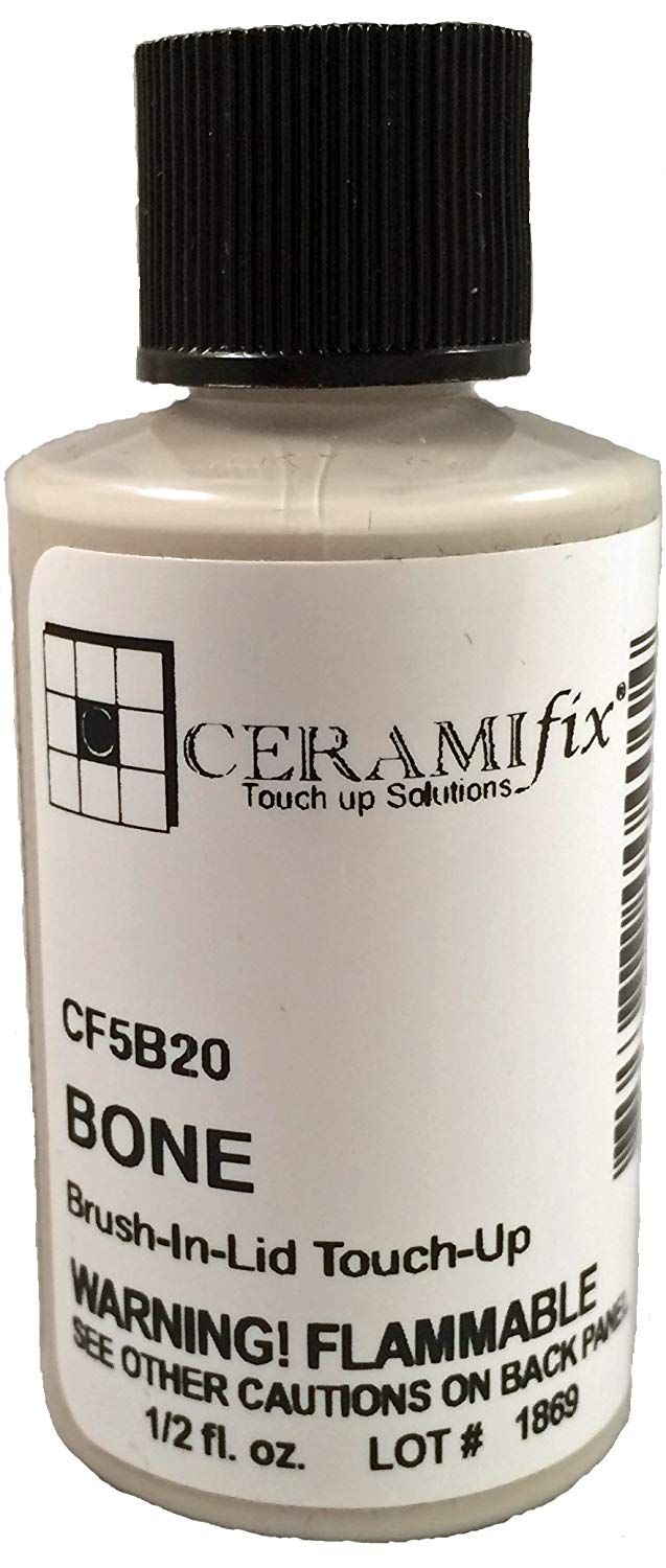 Ceramifix 5 Oz Light Gray Touch Up Paint For Tile Appliances And