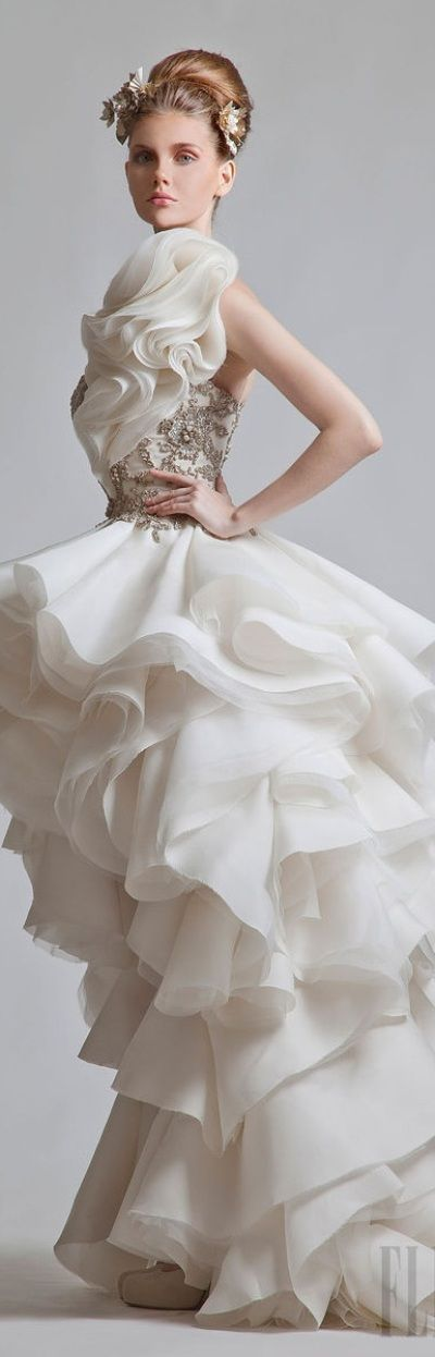 Krikor Jabotian couture 2013 via: Imgend