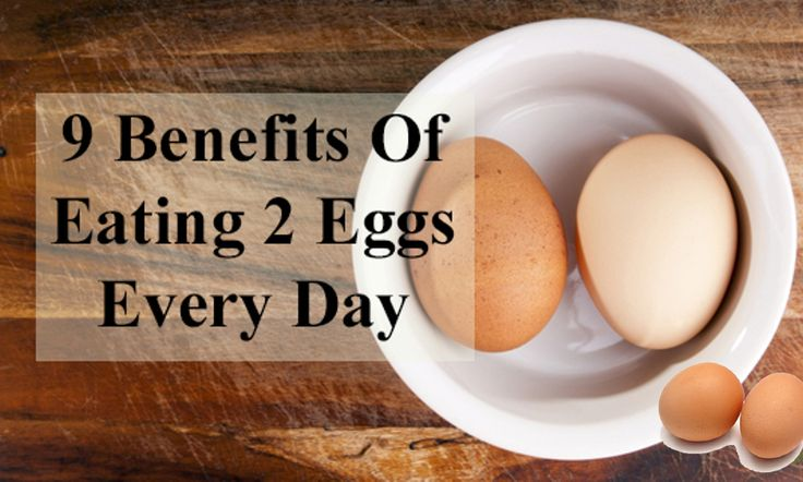 """Eating Just 2 Eggs A Day Gives You These 9 Incredible Benefits""    There exists a belief that when it comes to consuming eggs each day , it has got several benefits for health !    Eating two or three eggs each day can give you these below benefits : -    > YOU LOWER THE RISK OF HEART DISEASE AND SIMILAR PROBLEMS    > FOLIC ACID CAN HELP WITH BIRTH DEFECTS    > AGING IS SIGNIFICANTLY SLOWER    > THE RISK OF MALIGNANT TISSUE IS DECREASED    > IT IMPROVES THE LIVER, SKIN, AND HAIR    > IT…"