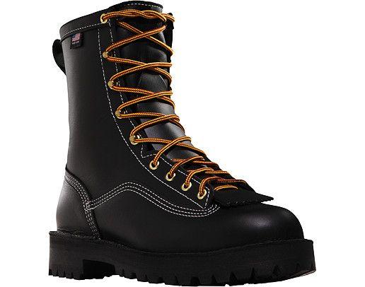 Danner Super Rain Forest 8 Inch 200 Gram Work Boot: The Super Rain Forest is