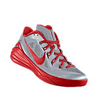 i designed the white nike hyperdunk 2014 low id mens basketball shoe with university red trim