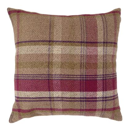 Heritage Mulberry 43cm x 43cm Cushion Cover - McAlister