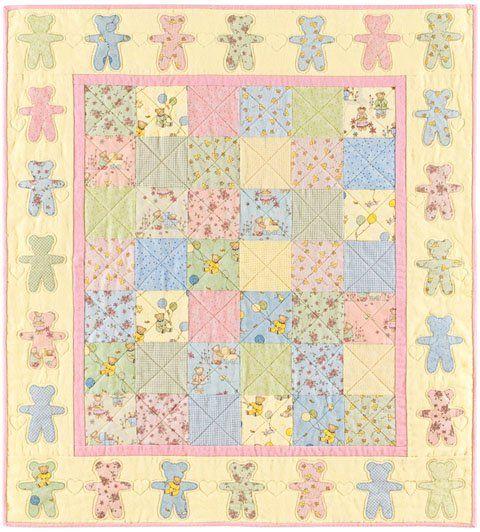 25 Best Teddy Bear Quilt Pattern Ideas On Pinterest