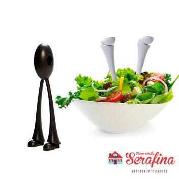 Pegador de Salada Slack Jack - Bem-vinda Serafina - Utensílios de cozinha