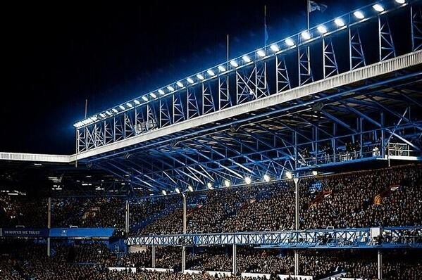 Goodison park. Totally top of the list. Preferably for the derby against the Shite.
