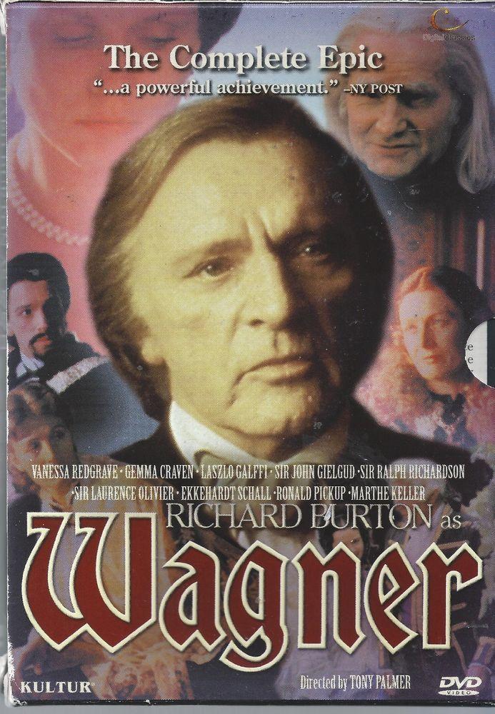 Wagner - The Complete Epic Richard Burton 4 DVD box set