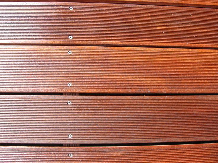 venkovní podlahový rošt - decking, nátěr olejem