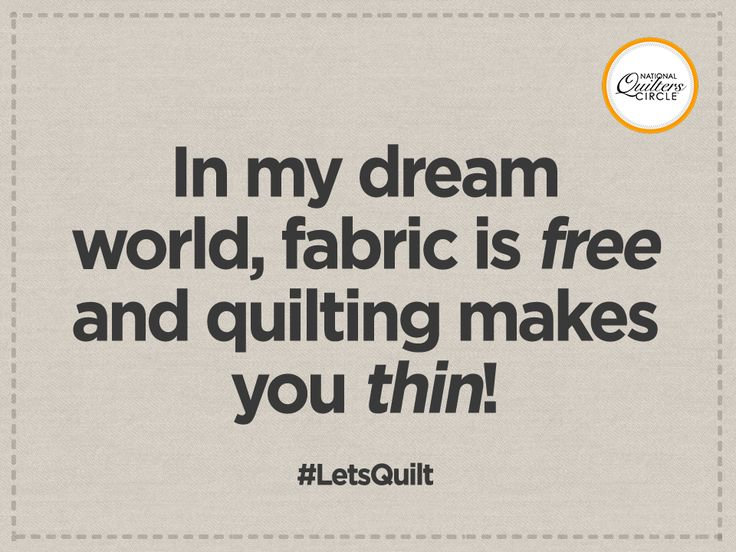 Who wouldn't love that? Get some quilting tips, designs, and patterns by signing up for our free quilting newsletter! #LetsQuilt