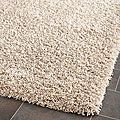 Cozy Beige Shag Rug (8' x 10') | Overstock.com Shopping - The Best Deals on 7x9 - 10x14 Rugs